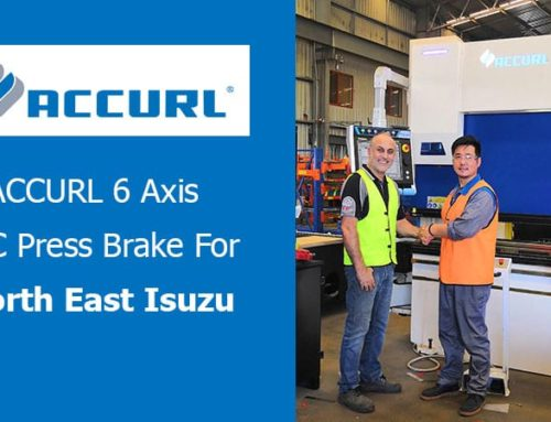 ACCURL 6 axis CNC Press Brake
